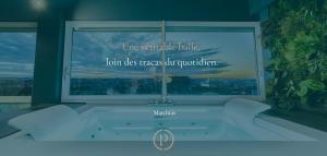 Commentaire de l'expérience d'un client venu dans nos suites avec Jacuzzi privatif